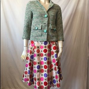 Kate Spade for Florence Broadchurch silk skirt